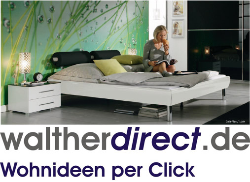 modernes bett gala plus von rauch. Black Bedroom Furniture Sets. Home Design Ideas