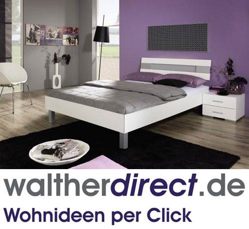 modernes bett flirt plus von rauch select ebay. Black Bedroom Furniture Sets. Home Design Ideas