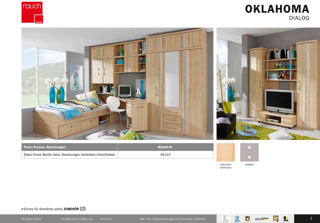 Modernes jugendzimmer oklahoma von rauch dialog ebay for Jugendzimmer zusammenstellen