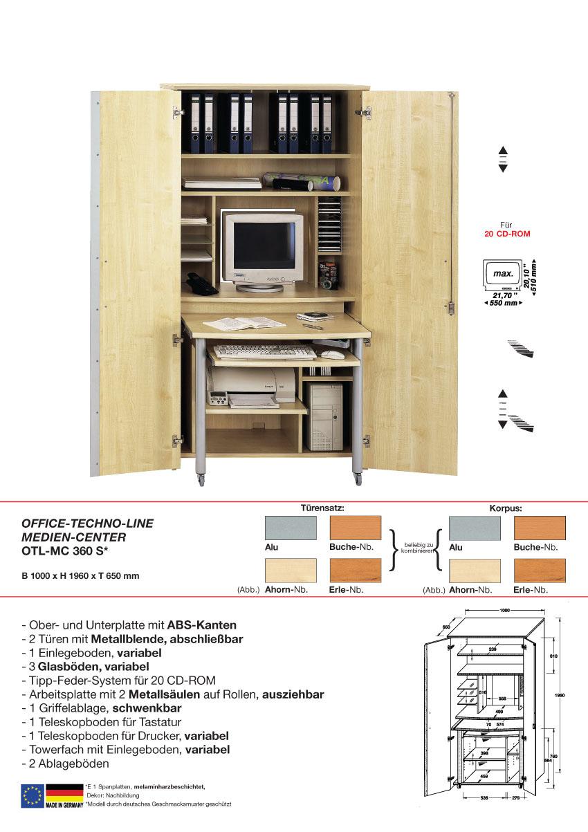 schrank mit rollo. Black Bedroom Furniture Sets. Home Design Ideas