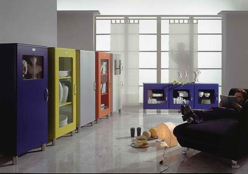 malibu vitrine schrank 5111 by tenzo neu ebay. Black Bedroom Furniture Sets. Home Design Ideas