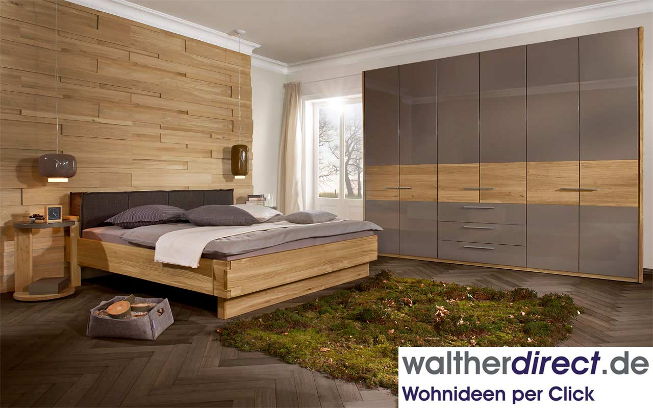 schlafzimmer maximum natur von loddenkemper schrank bett. Black Bedroom Furniture Sets. Home Design Ideas