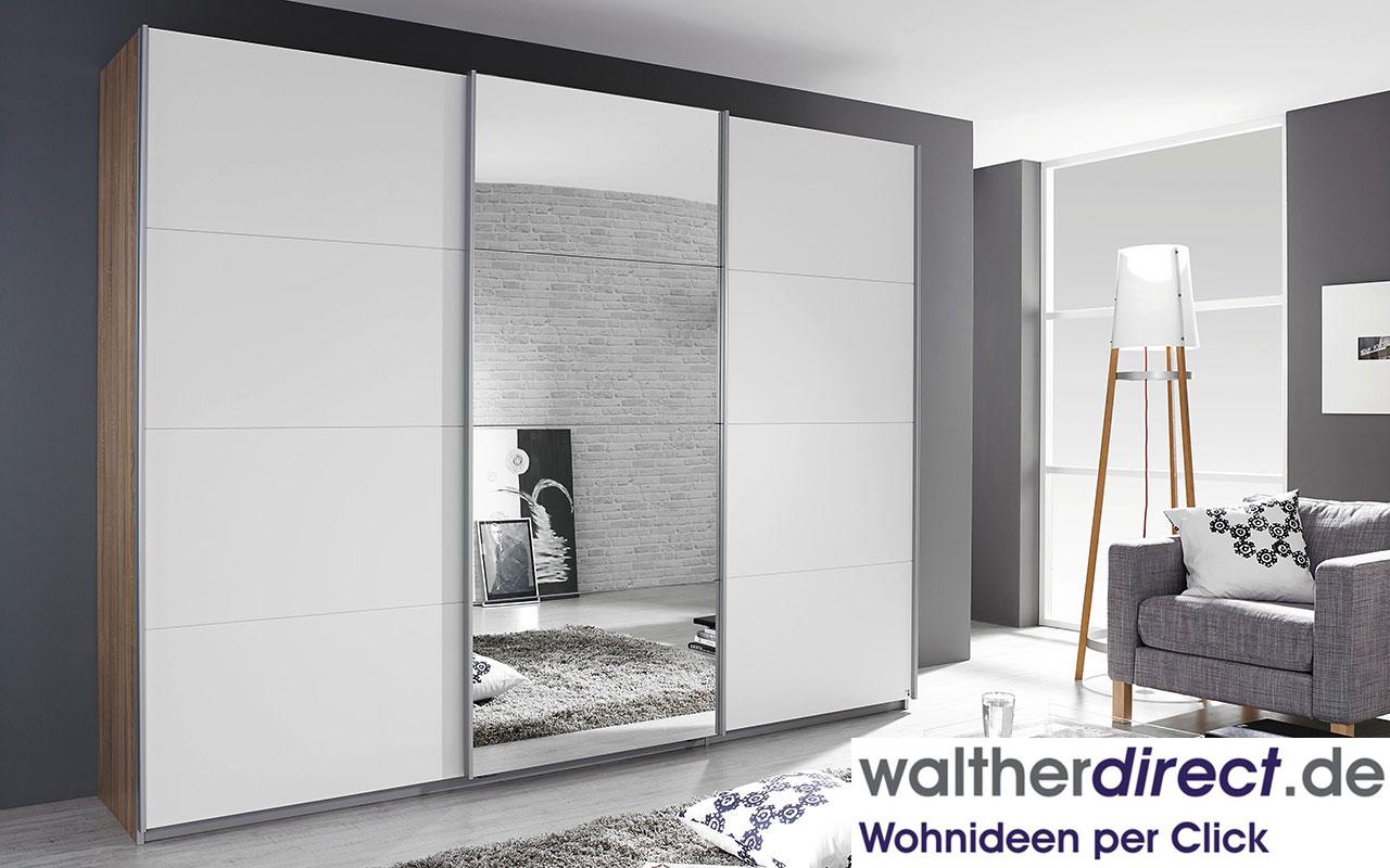 moderner schwebet renschrank gandra von rauch packs 3 t rig kleiderschrank ebay. Black Bedroom Furniture Sets. Home Design Ideas