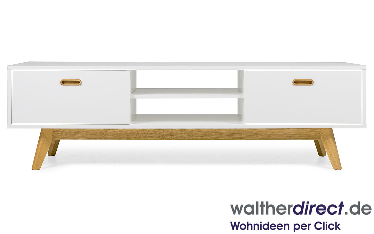 Bess by tenzo design lowboard sideboard tv hifi bank - Lowboard skandinavisches design ...