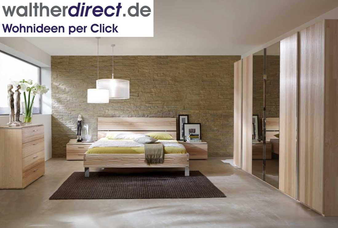 schlafzimmerset loft von thielemeyer kleiderschrank bett. Black Bedroom Furniture Sets. Home Design Ideas