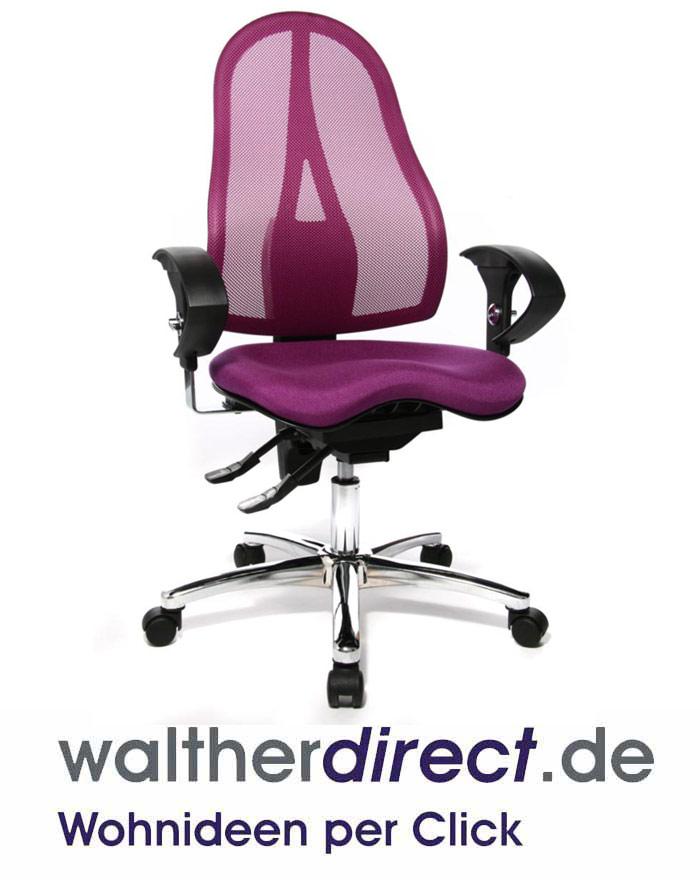 topstar sitness 15 drehstuhl b rostuhl ebay. Black Bedroom Furniture Sets. Home Design Ideas