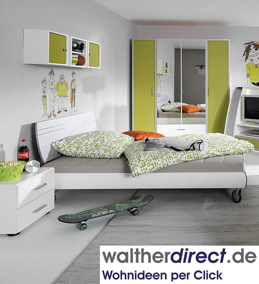 modernes jugendzimmer back up von welle ebay. Black Bedroom Furniture Sets. Home Design Ideas