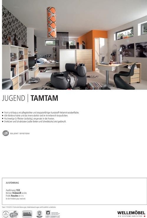 Modernes jugendzimmer tamtam von welle ebay for Jugendzimmer zusammenstellen